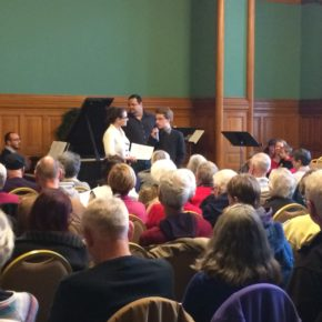 """Indra's Ear"" Performed at Schubert Club Courtroom Concert"